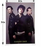 Grosir Poster Dinding Personil Green Day