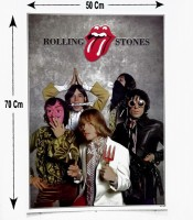 Grosir Poster Dinding Personil Rolling Stones