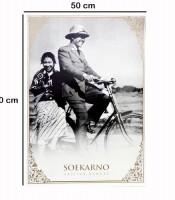 Grosir Poster Dinding Sang Proklamator Soekarno
