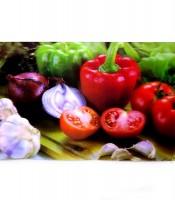 Grosir Poster Dinding Sayuran 3 Dimensi