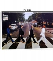 Grosir Poster Dinding The Beatles Abbey Road