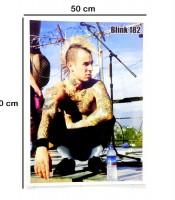 Grosir Poster Dinding Travis Barker Blink 182