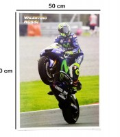 Grosir Poster Dinding Valentino Rossi