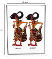 Grosir Poster Dinding Wayang Nakula Sadewa