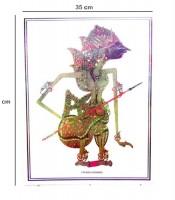 Grosir Poster Dinding Wayang Prabu Karno