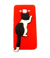 Grosir Red Silicone Case Cat Samsung J2 Prime Murah