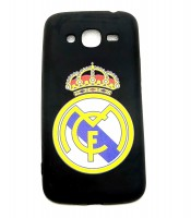 Grosir Samsung J2 Prime Real Madrid Silicon Black Matte Murah