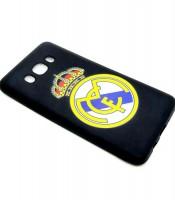Grosir Samsung J2 Real Madrid Silicon Black Matte Murah