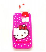 Grosir Silicon Case Samsung J7 Prime Hello Kitty 3D Murah