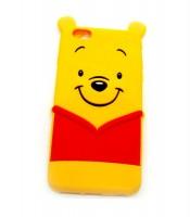 Grosir Silicon Case iPhone 6+ Winnie The Pooh 3D Murah