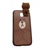 Grosir Silicone Case Brown Bear Line Samsung J5 Pro Murah
