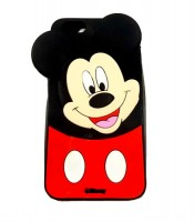 Grosir Silicone Case Mickey Mouse iPhone 6+ Murah
