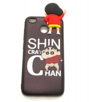 Grosir Silicone Case Xiaomi Redmi 4X Standing Sinchan Murah