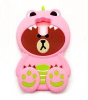 Grosir Silicone Case Xiaomi Redmi Prime 4 3D Bear Murah