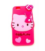 Grosir Silicone Case iPhone 6 Hello Kitty 3D Murah