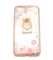 Grosir Soft Case Shining Flower Vivo Y53 Plus Ring Botol Parfum Murah