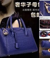 Grosir Tas Wanita Blue 3in1 Tas Fashion Terlaris