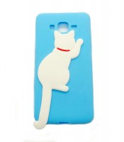 Grosir White Cat Silicone Case Samsung J2 Prime Murah