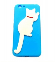 Grosir White Cat Silicone Case Vivo Y53 Murah