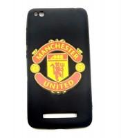 Grosir Xiaomi 4A Silicon Black Matte Bola Manchester United Murah