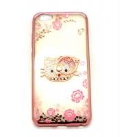 Grosir Pink Softcase Shining Flower Vivo V5 Hello Kitty Murah