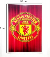 Grosir Poster Dinding Logo Manchester United Football Club