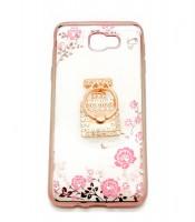 Grosir Samsung J5 Prime Soft Case Shining Flower Murah