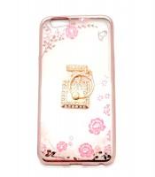 Grosir Soft Case Shining Flower Oppo A59 Ring Botol Parfum Murah