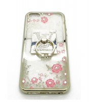 Grosir Soft Case Shining Flower i Phone 5 Louis Vuitton Murah