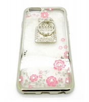 Grosir Soft Case Shining Flower i Phone 6 Blink-Blink Murah