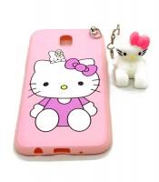 Grosir Soft Case Standing For Samsung J3 Karakter Hello Kitty Murah