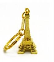 Grosir Souvenir Gantungan Kunci Gold Eiffel