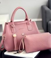 Grosir Tas Selempang Modis Pink 2 in 1