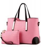 Grosir Tas Wanita 2 in 1 Pink Murah