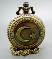 Khasiat Jam Pendulum Antik Motif Bulan Bintang