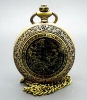 Kegunaan Jam Pendulum Bertuah Gambar Naga Emas