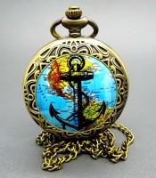 Khasiat Jam Pendulum Gambar Jangkar Globe