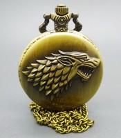 Manfaat Jam Pendulum Antik Bertuah Kepala Srigala