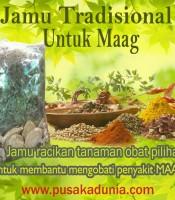 Manfaat Jamu Tradisional Obat Maag
