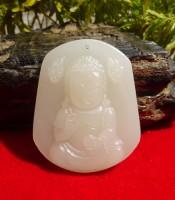 Khasiat Liontin Batu Giok Putih Dewi Kwan Im