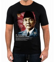 Grosir Kaos Bung Karno The Founding Father
