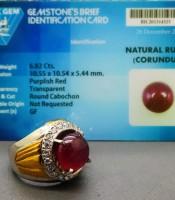 Kegunaan Cincin Mustika Merah Delima Asli Bersertifikat