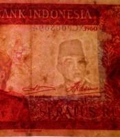 Asli Uang Soekarno Seratus Rupiah Kuno