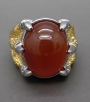 Batu Cincin Mustika Merah Delima Red Baron