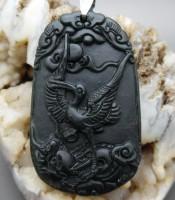 Batu Mustika Giok Burung Angsa
