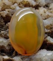 Batu Mustika Bertuah Aura Emas