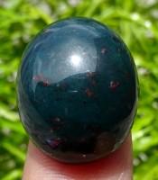 Batu Mustika Naga Sui Tutul Merah