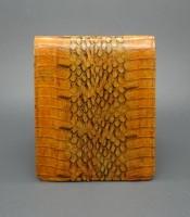 Kegunaan Dompet Kulit Ular Asli Warna Coklat