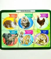 Grosir Mainan Puzzle Anak Aneka Hewan Murah