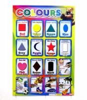 Grosir Poster Dinding Mengenal Warna dan Bentuk